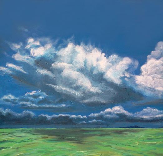 Cloud Over Sea