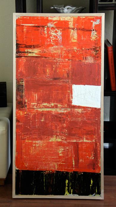 "Libertine | Acrylic | 24"" X 48"" | $720"