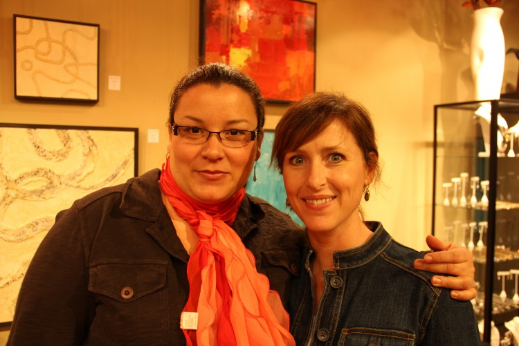 Beatriz Mayorca and Christie Hackler
