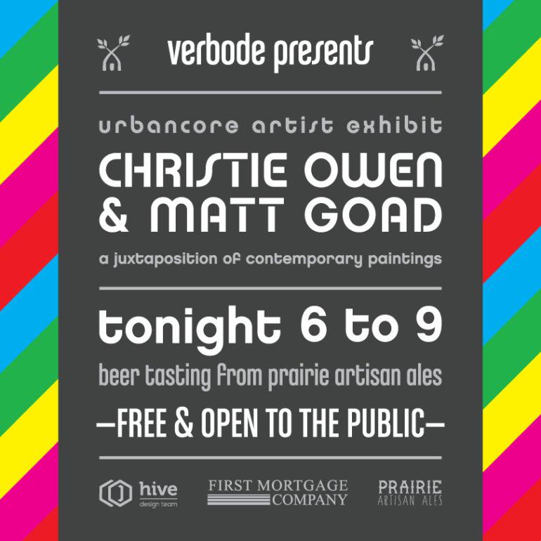 Christie Owen Matt Goad Verbode Urbancoreartistsokc Christie Owen Art Christie Fleuridas Oklahoma Artist
