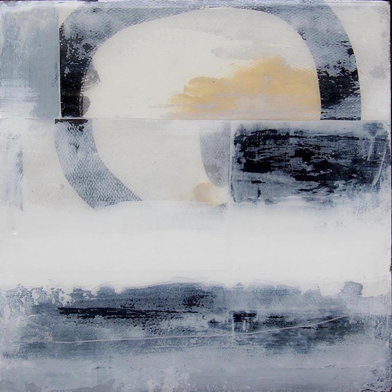 Beach side 3 - Modern art- christie owen art