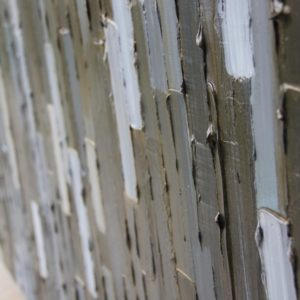 Bridge - inset 2-Acrylic on birch panel by Christie Owen