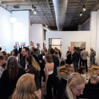 oppening night at urban core artist exhibit 1, curating art exhibits at verbode