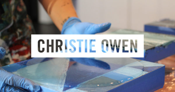 christie owen studio - resin art