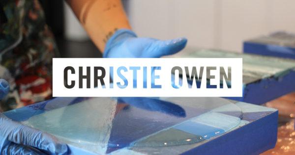 christie owen studio - resin art