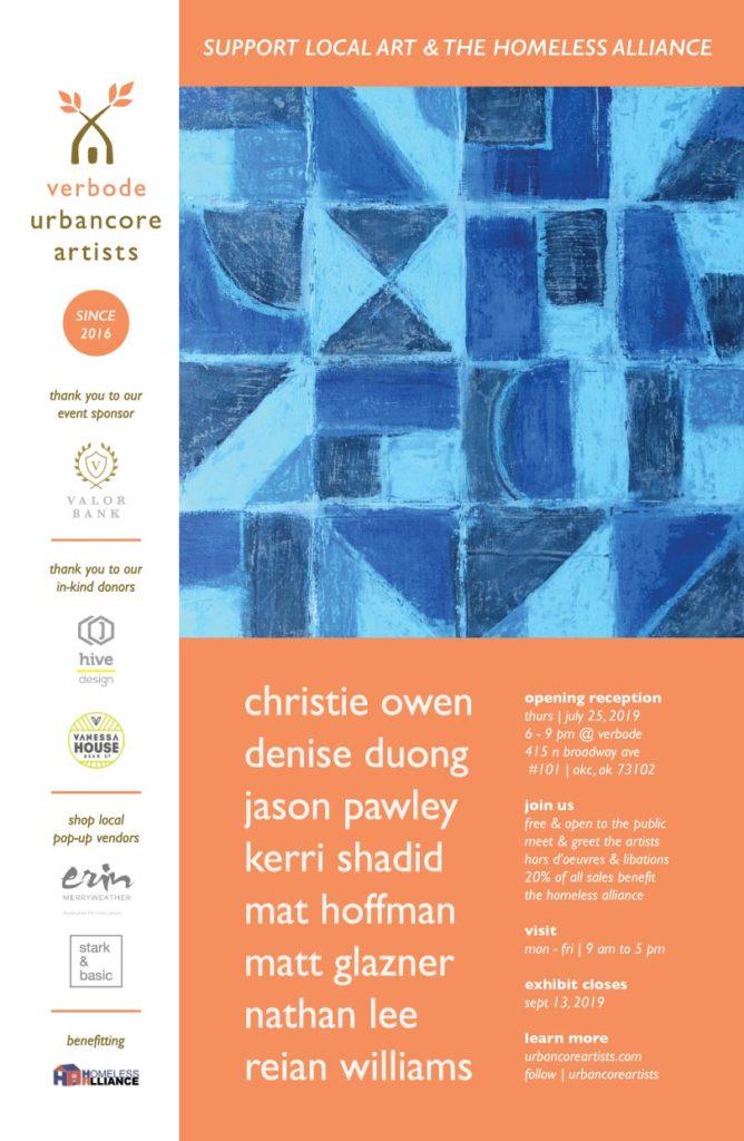 verbode urban core artists - christie owen