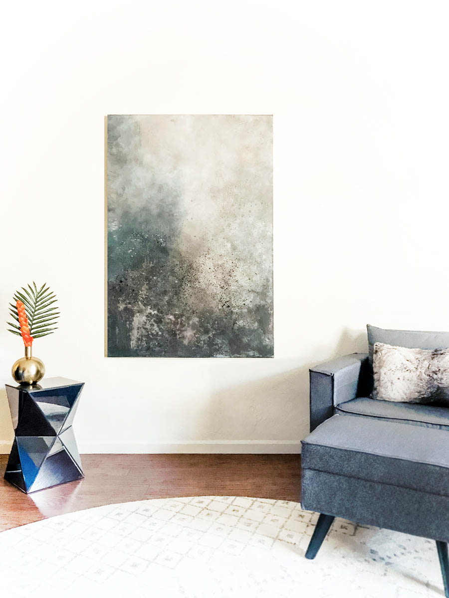 Christie Owen Art-Galaxy Abstract Painting -